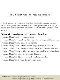 topdistrictmanagerresumesamples conversion gate thumbnail jpg cb