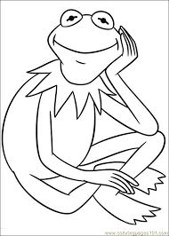 Small Picture kermit the frog coloring pages kermit the frog coloring page page