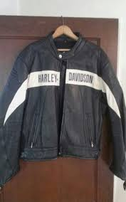 vintage harley davidson motorcycle jacket perforated leather mens xl