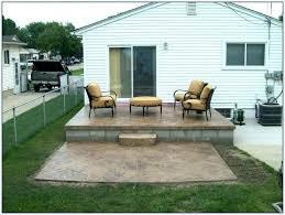 Cover concrete patio ideas Brick Ideas For Concrete Patio Small Concrete Patio Decorating Ideas Small Cement Patio Ideas Concrete Patio Ideas Ideas For Concrete Patio 2017seasonsinfo Ideas For Concrete Patio Concrete Patio Stamped Ideas For Covering