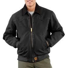 Carhartt J14 - Santa Fe Sandstone Duck Jacket - Quilted Flannel ... & Carhartt J14 - Santa Fe Sandstone Duck Jacket - Quilted Flannel Lined Adamdwight.com