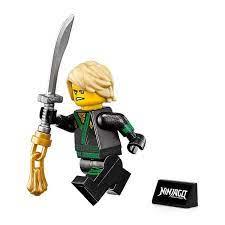 LEGO The Ninjago Movie Minifigure - Lloyd Green Ninja (with Hair, Sword,  and Display Stand) 70617- Buy Online in Angola at angola.desertcart.com.  ProductId : 164605488.