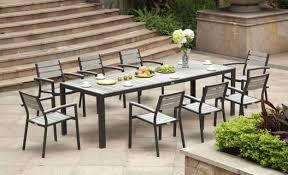 wonderful rectangular patio dining table black outdoor dining table regarding amazing modern outdoor dining set