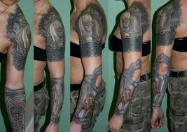 работы лучших российских мастеров татуировки
