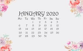 January 2020 Wallpaper Screensaver ...