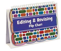 Editing Revising Spiral Bound Flip Chart Book Oriental