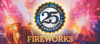 Casino Del Sol Anniversary Fireworks Celebration