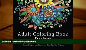 Small Picture FREE DOWNLOAD Adult Coloring Book Designs Stress Relief