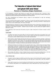 liphook c of e junior school health and safety parent or voluntary helper guidelines