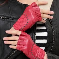 2019 Wholesale <b>Women'S Gloves</b> LAMPSKIN Fingerless Rock <b>Punk</b> ...