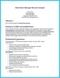 Assistant Store Manager Cv Sample Retail Resume Examples Grocery