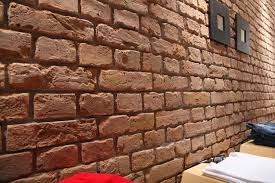 faux brick wall panels home depot
