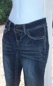 Skinny Jeans Stretch Denim Pants 5 Pocket Juniors Women