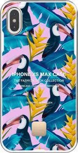 <b>Клип</b>-<b>кейс Happy Plugs</b> для Apple iPhone XS Max Toco Loco dark ...