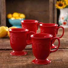 From wikimedia commons, the free media repository. The Pioneer Woman Cowgirl Lace 4 Piece 14 Ounce Mug Set Red Walmart Com Walmart Com