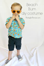 diy costume beach by partiesforpennies com