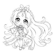 Anime Coloring Pages Chibi Math Worksheets Multiplication