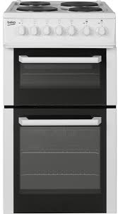 fan assisted oven. beko bcdp503w electric cooker double oven 500mm wide white - moores appliances ltd. 1 fan assisted