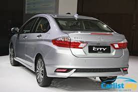 new car release malaysia2017 Honda City Facelift Launched In Malaysia  From RM78300