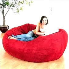 giant bean bag pillow large bed beanbag chair huge diy max