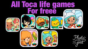all toca life games for free