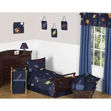 Sweet Jojo Designs Space Galaxy 11pc Crib Bedding Set Blue Sweet Jojo Designs Space Galaxy Galactic Planets Rocket Ship