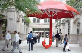 metre giant umbrella: