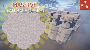 Rust Clan Base Design 2019 Massive Clan Base Rust Base Builds