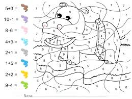 free color by number addition worksheets – holidayvillas.co