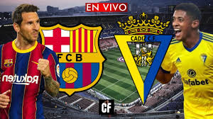 BARCELONA vs CADIZ EN VIVO 🔴 LA LIGA - YouTube