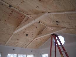 Plywood Plank Ceiling Pine Ceiling Adventures In Remodeling