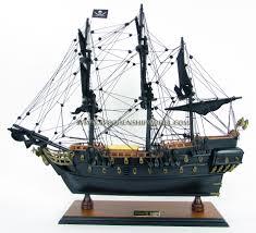model pirate ship of caribbean blackbeard captain jack sparrow hms victory wooden model ship