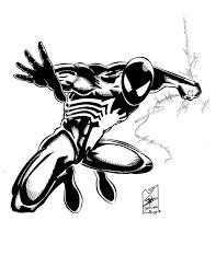 Web slinging spider man coloring page. 403 Forbidden Spiderman Coloring Black Spiderman Spiderman Sketches