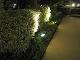 image of outdoor low voltage led landscape lighting