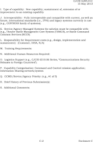 Disa Cio Org Chart Chairman Of The Joint Chiefs Of Staff Instruction Pdf