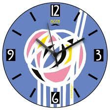 charles rennie mackintosh rose design wall clock celebrating the scottish artist designer and architect on