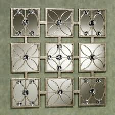 amazing arts and craft mirrors with 9 square mirrors and awesome fl mirror frame design for