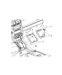 Diagram i2254232 array gear shift boot knob and bezel for 2008 dodge caliber rh moparpartsgiant