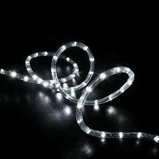 christmas rope lighting. Led Rope Light Cool White 25 Feet Christmas Lighting D