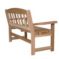 always a pleasure to come across a garden bench like this its gently curved seat and eased back offers years of sitting enjoyment