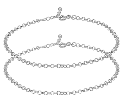 Anklet Design With Price Amazon Com D D Crafts Chain Design Sterling Silver Anklets