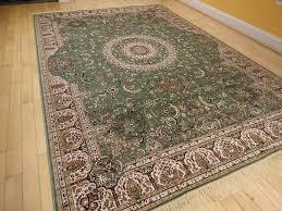 com stunning green silk rug persian area rugs 8x8 circle