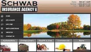 auto insurance quotes car home life business insurance best rates millington mi schwab insurance agency