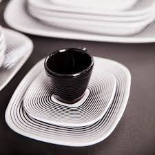 modern dish sets melmac brookpark modern design dinnerware set