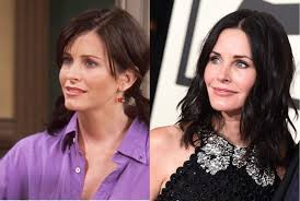 what do the actors and actresses from friends look like years courteney cox monica geller