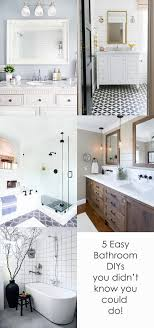 Bathroom Remodel Ideas And Inspiration For Your Home - Easy bathroom remodel