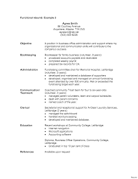 Functional Resume Example 2016 Functional Resume Example Classic Format Free Throughout Templates 91
