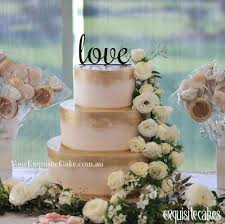 Sydney Wedding Cakes Rustic Fondant Homestyle