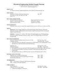 electrical engineer resume objectives resume samples resume objective statement for engineering resume
