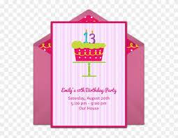 Free 13th Birthday Invitations Gotta Love This Pretty Pink 13th Birthday Party Invitation